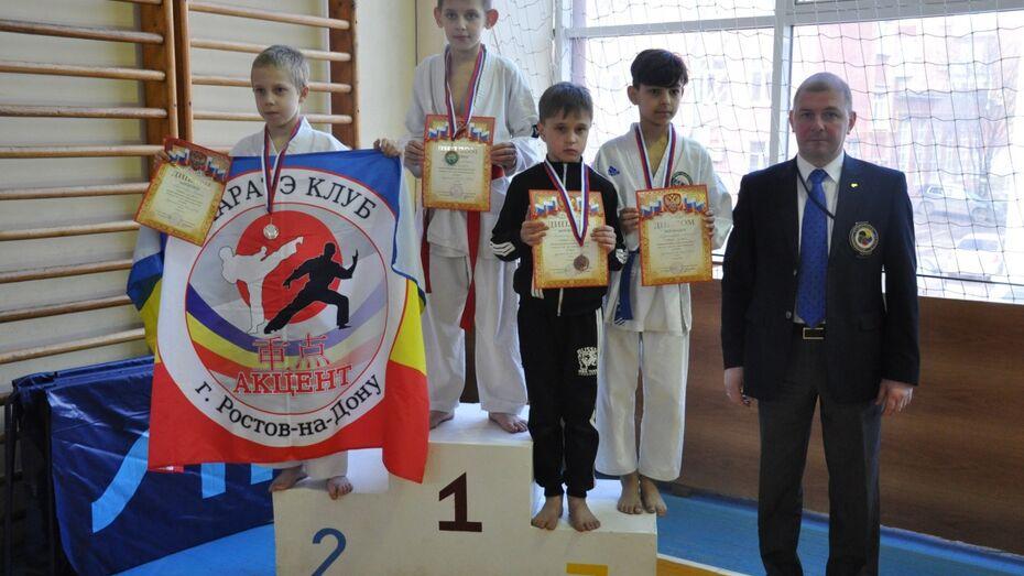 Воронежский каратист выиграл «бронзу» на первенстве Южного федерального округа