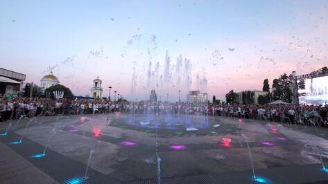 Воронежские фонтаны подготовили к запуску на 1 Мая