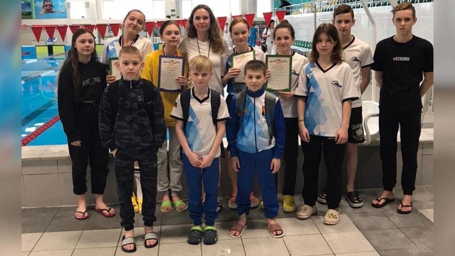Борисоглебские пловцы выиграли 5 медалей областного соревнования