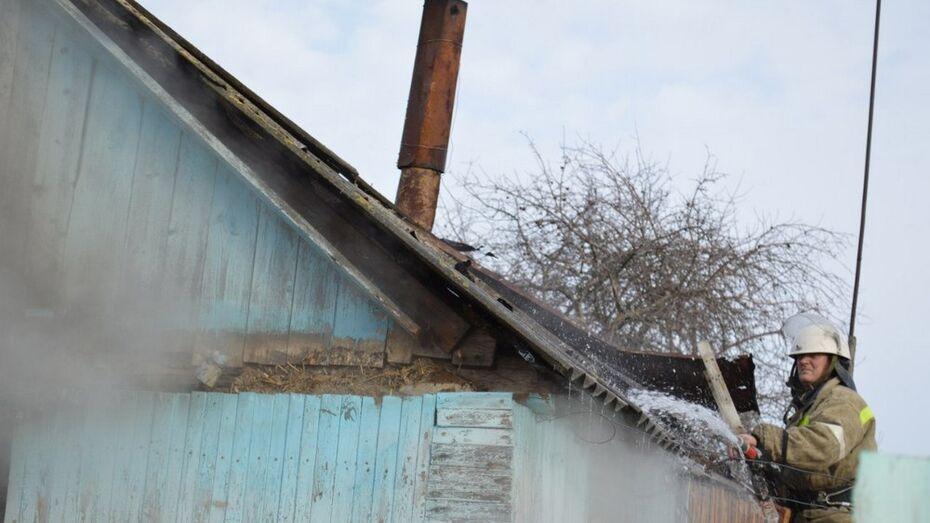 В Лисках при пожаре погибла пожилая женщина