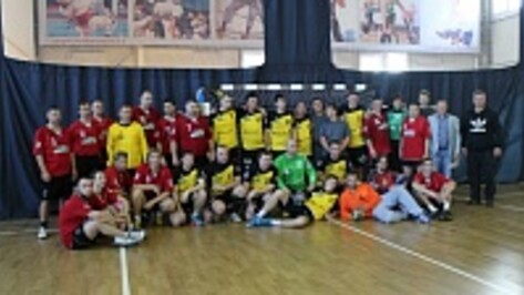 В Новой Усмани впервые прошел Чемпионат России по гандболу