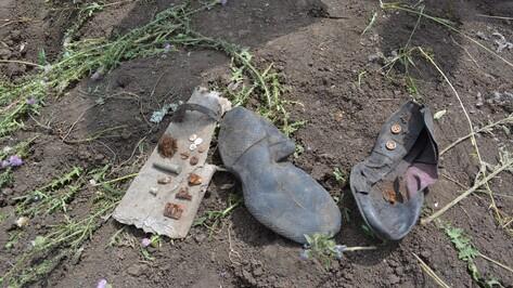 В Острогожске нашли захоронение времен Великой Отечественной войны