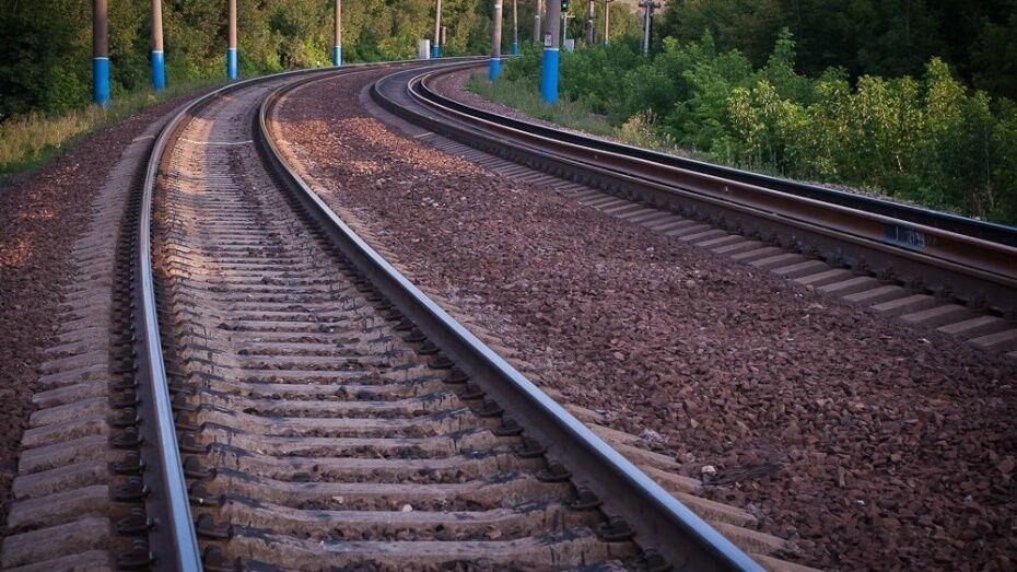 В Воронежской области загорелся электровоз