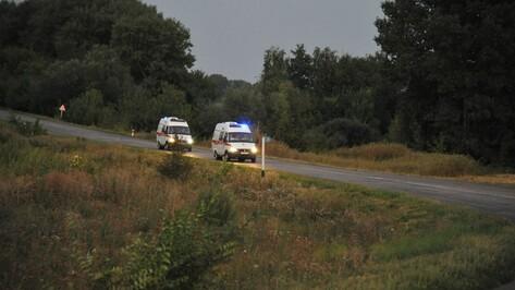 В Воронежской области 6 человек пострадали при столкновении «Приоры» и Lancer