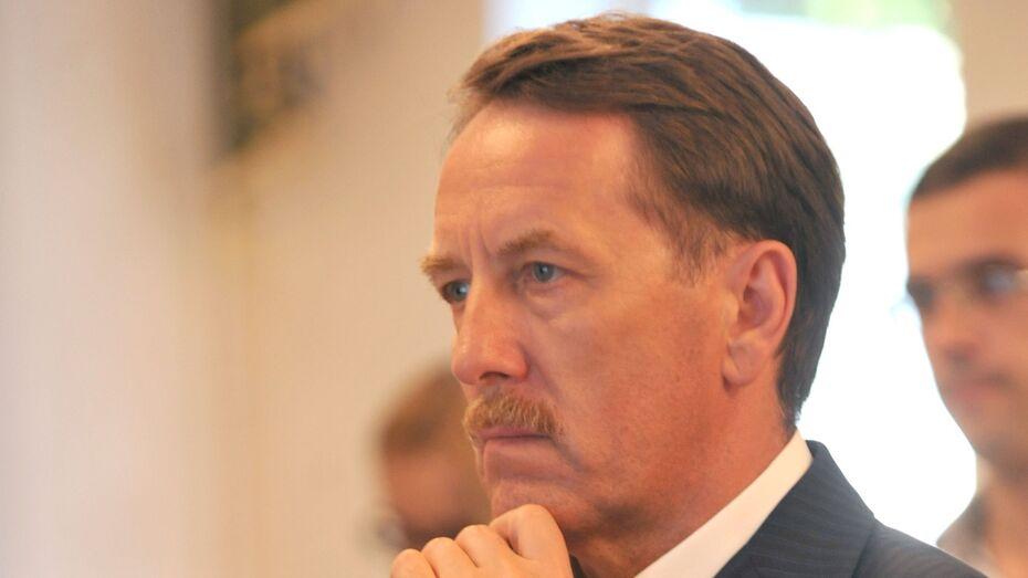 Алексей Гордеев будет участвовать в выборах в Госдуму от Воронежской области