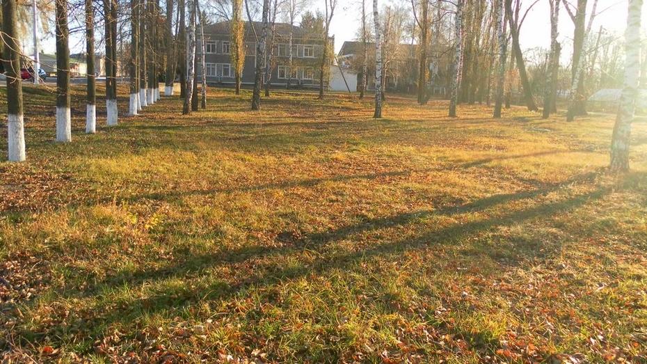 В селе Лискинское весной благоустроят универсальную площадку