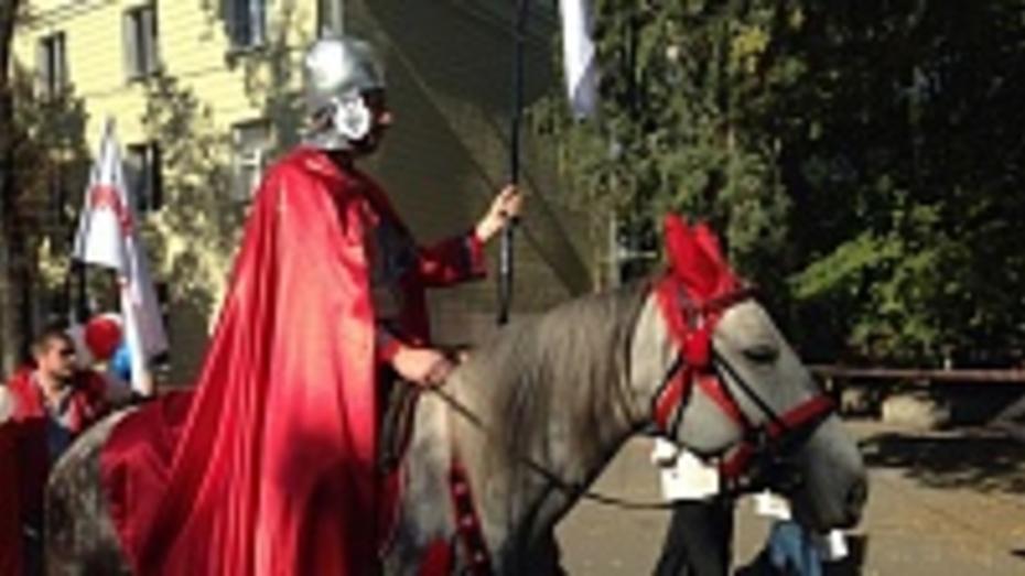 День города в Воронеже открылся праздничным шествием