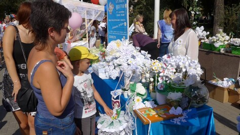 На акции «Белый цветок» в Воронежской области собрали почти 14 млн рублей