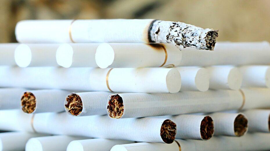 Воронежец хранил поддельные сигареты на 135 млн рублей в арендованных гаражах