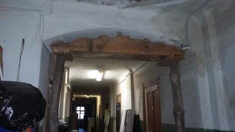 Жилой дом в Воронеже оказался под угрозой обрушения