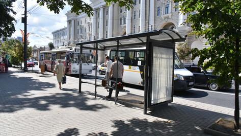 Перенос остановок и нанесение разметки на главной улице Воронежа завершатся до 24 августа
