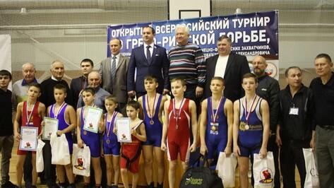 Богучарские борцы стали призерами всероссийского турнира