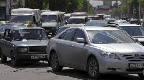 Воронеж попал в пятерку городов России с самыми загруженными дорогами