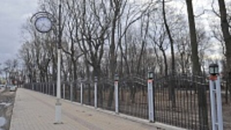 В Бринкманском саду Воронежа приступают к строительству ротонды