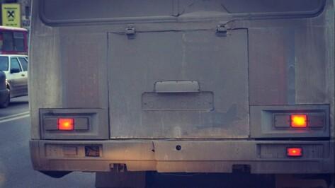 В Воронеже маршрутный «ПАЗ» насмерть сбил пешехода