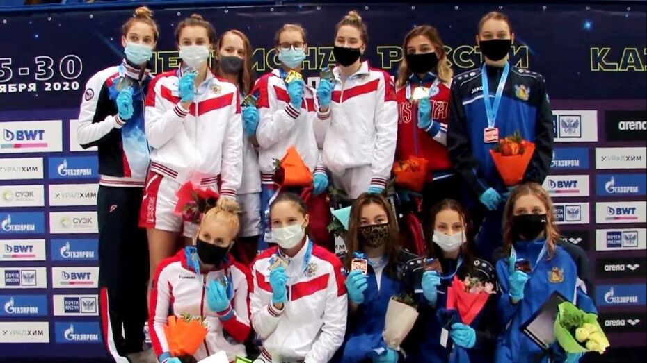 Воронежские пловчихи взяли «бронзу» на чемпионате России