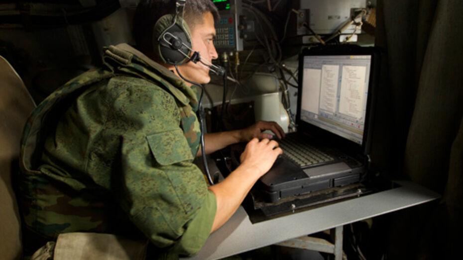 Военные ЗВО в Воронежской области получили новые станции спутниковой связи