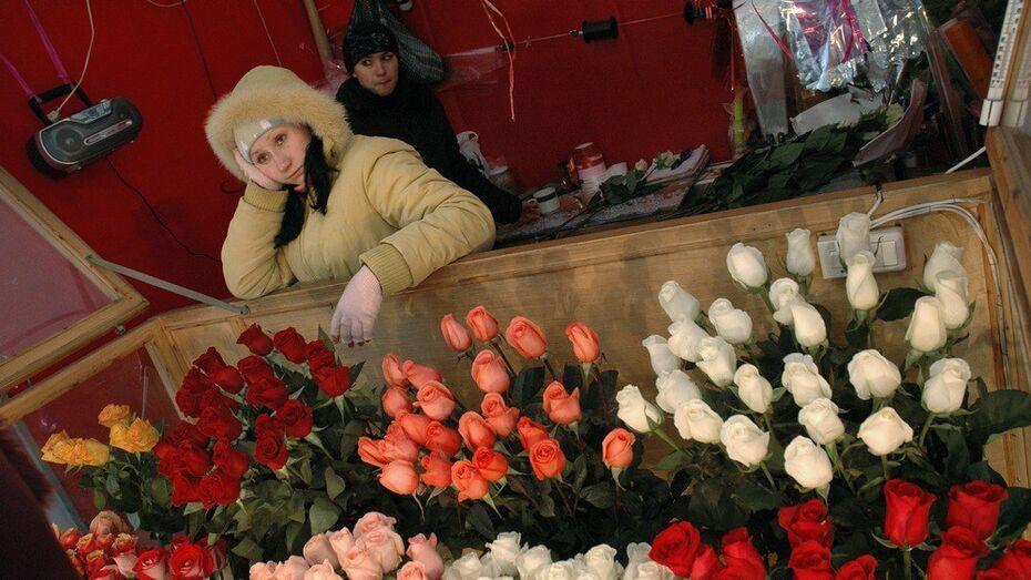 Воронеж отстал от 13 городов-миллионников по числу цветочных магазинов