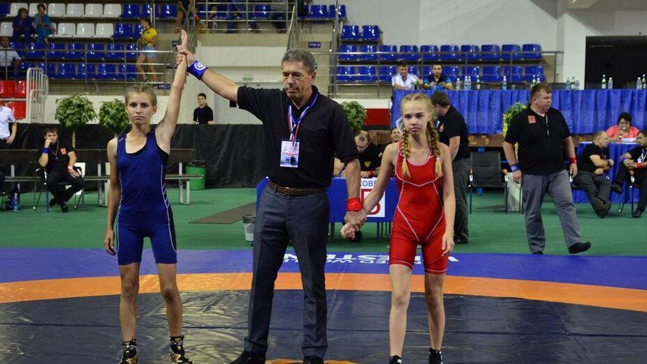 Аннинская спортсменка выиграла «бронзу» в спартакиаде по вольной борьбе