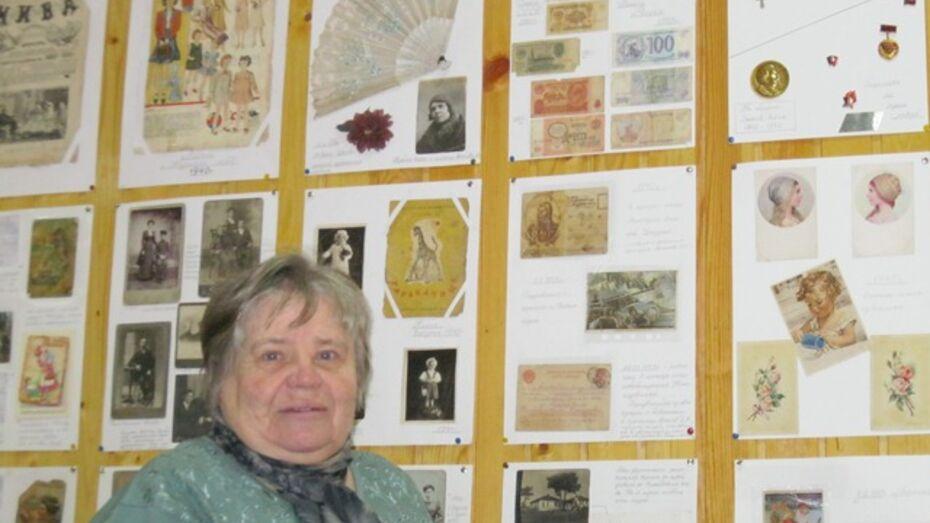 В Нижнедевицком краеведческом музее выставили мелочи жизни