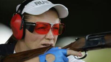 Елена Ткач стала пятой на Чемпионате России по стендовой стрельбе
