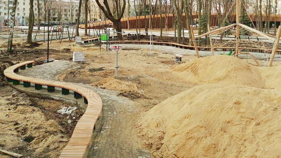 В Воронеже снова начали поиск подрядчика для благоустройства детской зоны в парке «Орленок»
