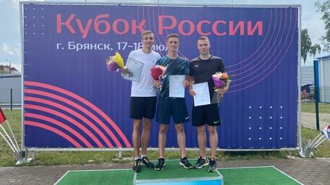 Воронежские легкоатлеты завоевали еще два «золота» на Кубке России