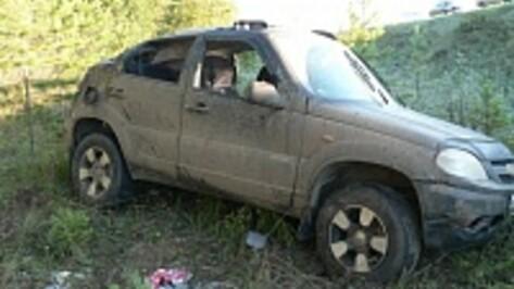 В Воронежской области по вине пьяного водителя разбились 2 мужчин