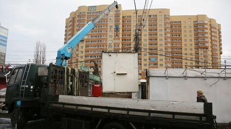 В Воронеже предприниматели помешали городским властям снести рынок на улице Димитрова