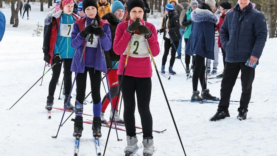 Бобровские лыжники стали победителями областных соревнований
