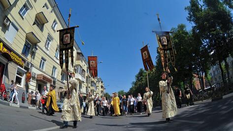 Воронежская епархия отменила крестный ход до Задонска
