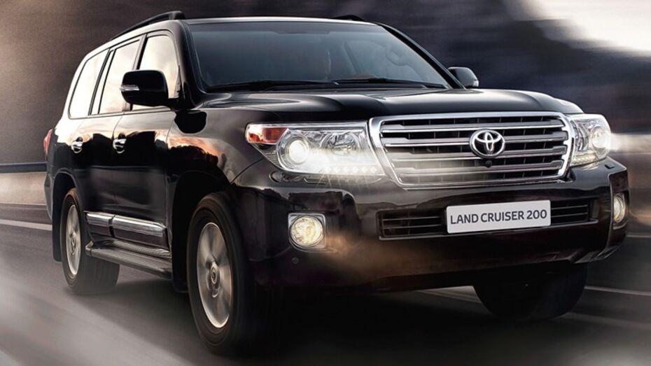 В Воронеже самой угоняемой иномаркой стала Toyota Land Cruiser