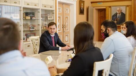 Студенты воронежского вуза смогли лично обсудить насущные вопросы со спикером облдумы