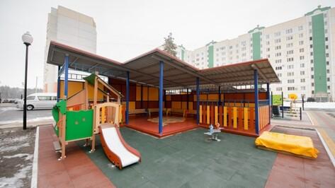 Детсад в воронежском микрорайоне «Новый» откроется на месяц раньше срока