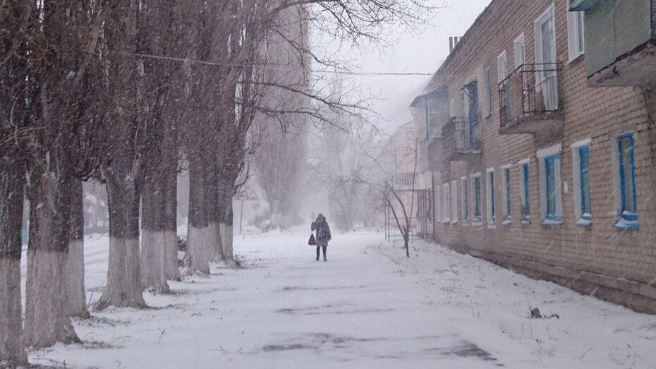 Природа сыграла первоапрельскую шутку с жителями Аннинского района