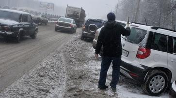 Спасатели предупредили воронежцев о сильном тумане и снежных заносах