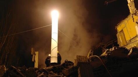 СК найдет виновных во взрыве газового баллона в Воронеже