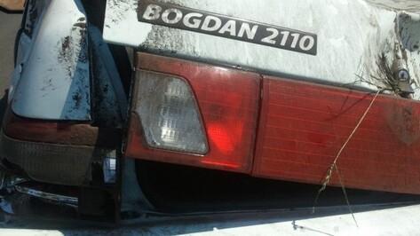 В Воронежской области разбился 27-летний водитель «Богдана»
