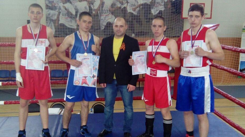 Грибановские боксеры завоевали 4 «золота» на турнире «Бокс против наркотиков»