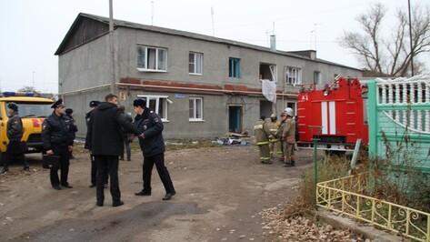 В многоквартирном доме под Воронежем взорвался газ