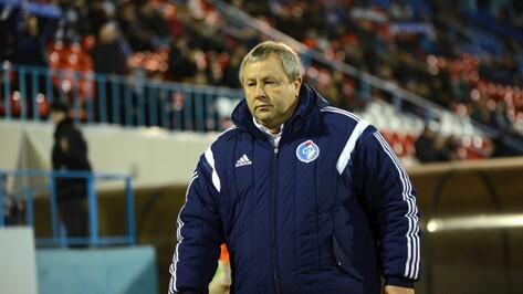 Тренер воронежского «Факела»: «Наша задача – попасть в стыковые матчи»