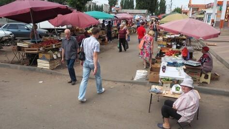 В Воронеже на месте мини-рынка «Остужевский» появятся парковка и клумбы