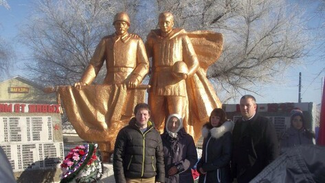 В Богучарском районе нашли родных погибшего под Тулой в 1942 году офицера