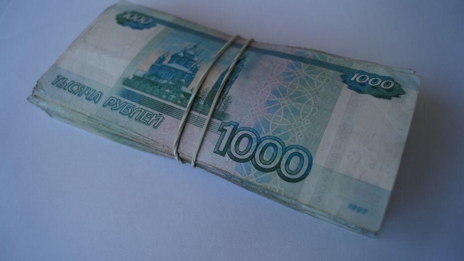 Средняя зарплата в Воронежской области выросла на 5% за год