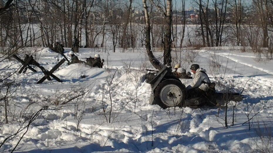 Реконструкторы из 10 регионов воссоздадут освобождение Воронежа