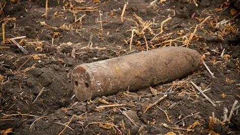 В Воронежской области уничтожили 11 боеприпасов времен войны