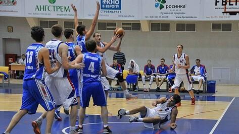 Воронежские баскетболисты проиграли омскому клубу