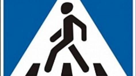 У школ в трех селах Эртильского района появились пешеходные переходы, заметные для водителей