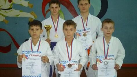 Поворинские каратисты завоевали шесть медалей на «Кубке Черноземья»