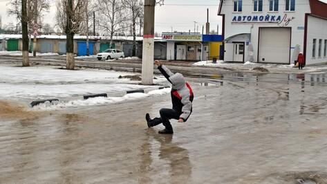 Лискинские коммунальщики высыпали на обледеневшие дороги 430 т песка